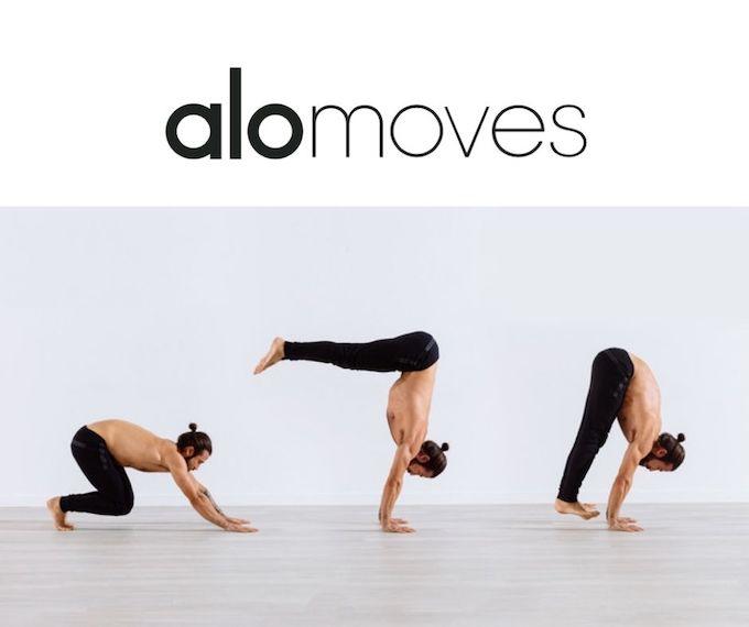 ALO Moves yoga online - Dylan Werner, Patrick Beach m.fl.