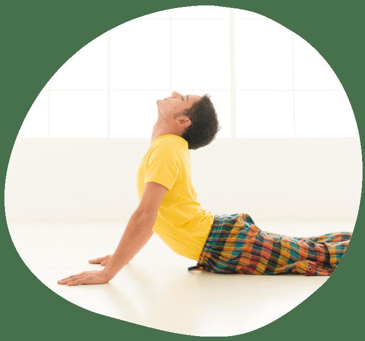 Kobra yoga stilling