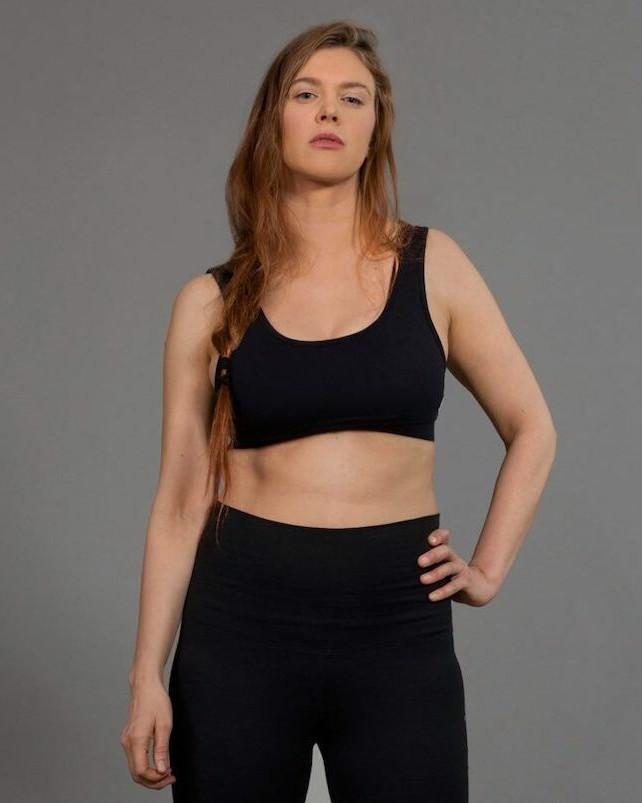 Økologisk yoga top fra B-light