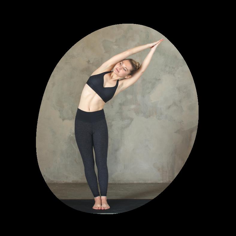 Yoga øvelse: standing side stretch
