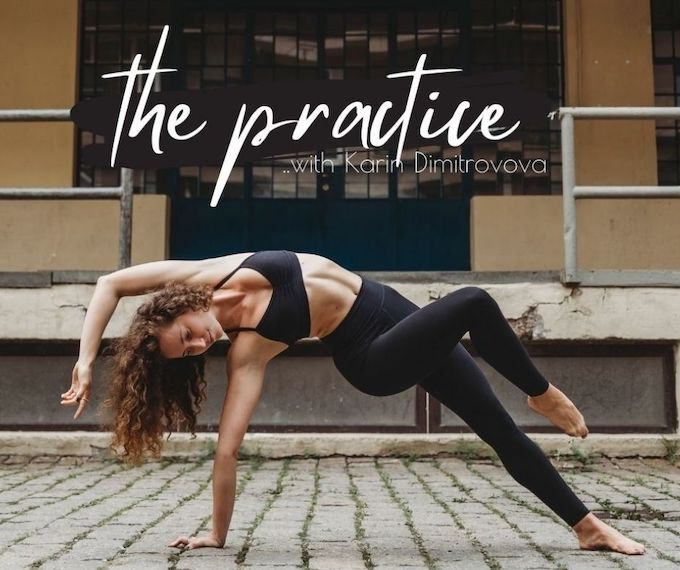 The Practice - Yoga med Karin Dimitrovova: Aligned, Beyond Flexibility og The Core Play