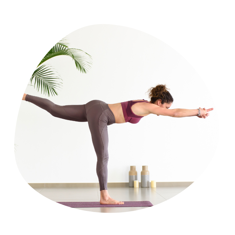 Kriger 3 yoga øvelse