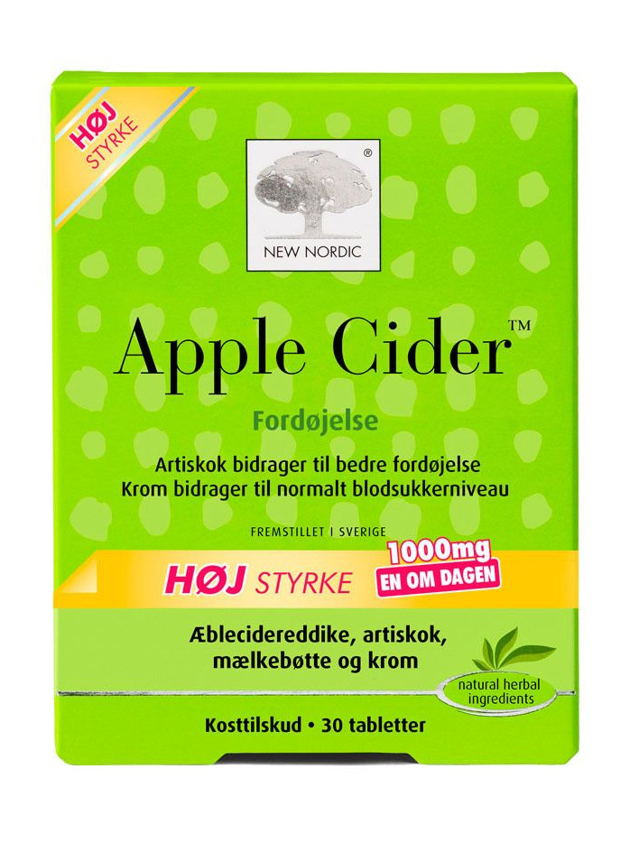 New Nordic Apple Cider til fordøjelsen