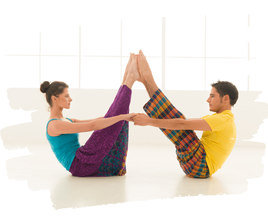 Partneryoga - yoga for 2 personer