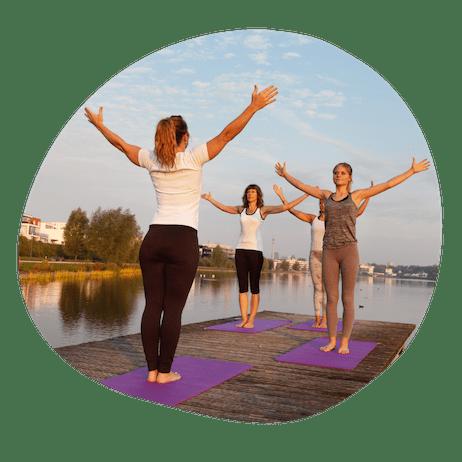 Solhilsen yoga serie for begyndere